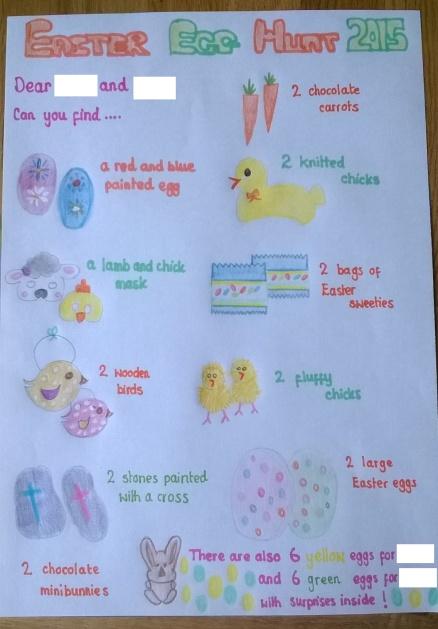 Easter list