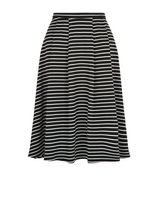 black-stripe-balloon-midi-skirt