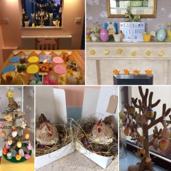 Easter decorations chez Sparkles
